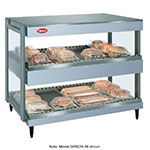 "Hatco GRSDH-60D 208 60"" Merchandising Warmer, 2-Tier & Horizontal Shelves, 208 V"