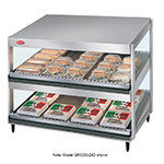 Hatco GRSDS-41D Pass Thru Merchandising Warmer, Slanted Shelves, 16-Rods, 2120 W