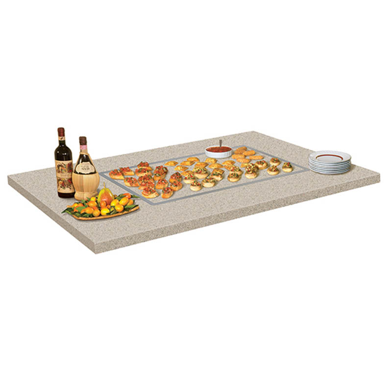 Hatco GRSSB-2418 25-5/8 Built In Heated Stone Shelf, 100-200F Temp Range