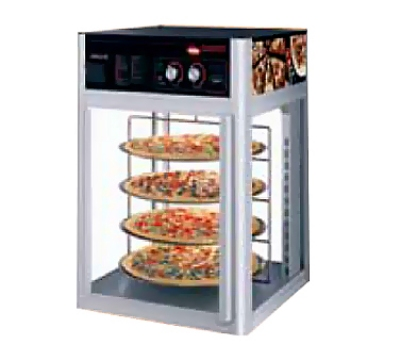 Hatco FSD-1 Holding Display Cabinet w/ 3-Tier Circle Rack