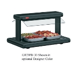 "Hatco GR2BW-72 208 78-1/8"" Buffet Warmer w/ 2-Sneeze Guards & Lights, 120/208 V"