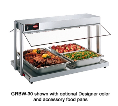 Hatco GRBW-30 240 31-1/8-in Buffet Warmer, Sneeze Guards, Light & Heated Base, 240 V