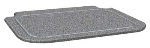 Hatco CB2420GGRAN Swanstone 24 x 20-in Cutting Board, Gray Granite
