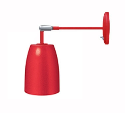 """Hatco DL-600-AU Heat Lamp, 1-Bulb, 8.5 x 6.12"""", Rigid Mount to Canopy w/ Pivot, Upper Switch"""