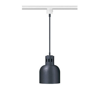 "Hatco DL-700-STR Heat Lamp, 1-Bulb, 8.5 x 6.5"", Rigid Stem Mount to Track, Remote Switch"