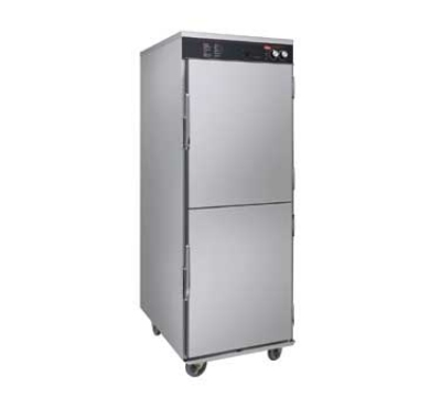 Hatco FSHC-17W1D 240 Humidified Holding Cabinet w/ 17-Tray Slides & Dutch Doors, 240 V