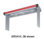 "Hatco GR2AHL-72 240 75.5"" Infrared Foodwarmer w/ High Watt & Lights, 120/240 V"