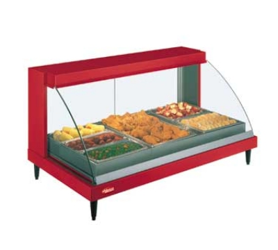 Hatco GRCDH-3P 45.5-in Heated Display Case w/ Humidity & 3-Pan Shelf, 120 V