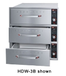 Hatco HDW-2B Built-In Warming 2-Drawer Unit For Standard Size Pans, 120 V