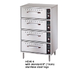 Hatco HDW-4 240 Freestanding Warming 4-Drawer Unit For Standard Size Pans, 240 V