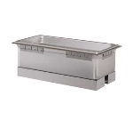 Hatco HWBI-43D 120 Built-In Heated Well w/ Drain & 4-Pan Capacity, Separate Power Switch, 120 V