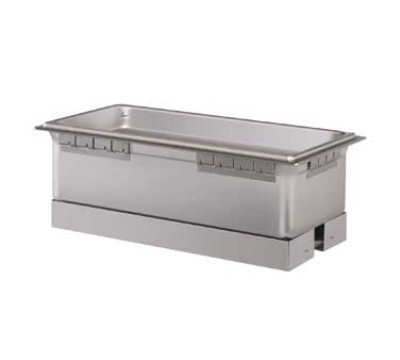 Hatco HWBI-43D Built-In Heated Well w/ Drain & 4-Pan Capacity, Separate Power Switch, 120 V
