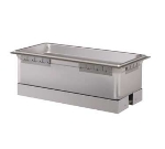 Hatco HWBLI-43D Built-In Heated Well w/ Drain & 4-Pan Capacity, Insulated, Top Mount, Stainless