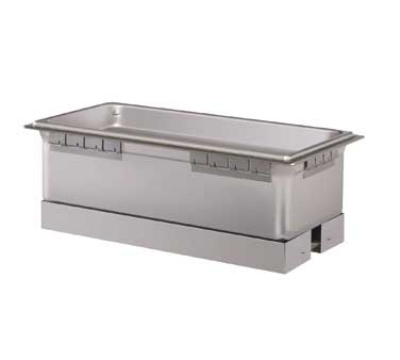 Hatco HWBLI-43 Built-In Heated Well w/ 4-Pan Capacity, Insulated, Top Mount, Stainless