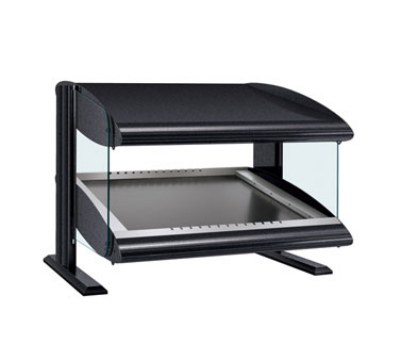Hatco HZMS-48 Slanted Merchandising Warmer, 1-Shelf & 4-Zone, 6-Divider Rod, LED, 1500-watt