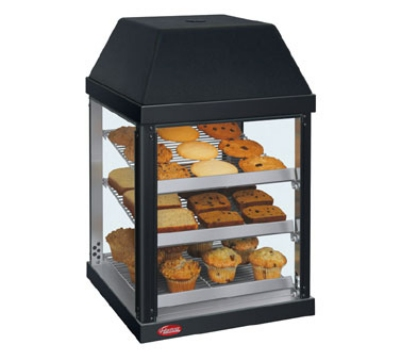 Hatco MDW-1X 120 BLACK Mini Display Warmer w/ Adjustable Shelves, Black, 120 V