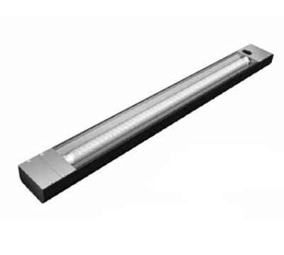 Hatco NLL-48 48-in Narrow LED Display Light w/ 3-ft Bulb & 1.5-in Mounting Bracket, 10-watt