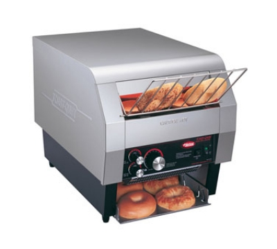 Hatco TQ-400BA 208 Conveyor Toaster For One Side Of 6-Bagels/Buns Per Minute, 208 V