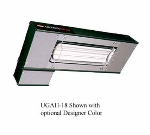 Hatco UGAL-18 240 18-in Foodwarmer w/ 1-Ceramic Strip & Lights, 240 V