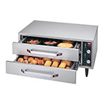 "Hatco HDW-1R2 Warming Split Drawer, Free Stdng, 2 Drawer, 2-1/2""Deep,525 W"