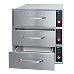 Hatco HDW-3B 240 Built-in Warming 3-Drawer Unit For Standard Pans, 240 V