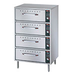 Hatco HDW-4 120 Freestanding Warming 4-Drawer Unit For Standard Size Pans, 120 V