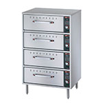 Hatco HDW-4 Freestanding Warming 4-Drawer Unit For Standard Size Pans, 208 V