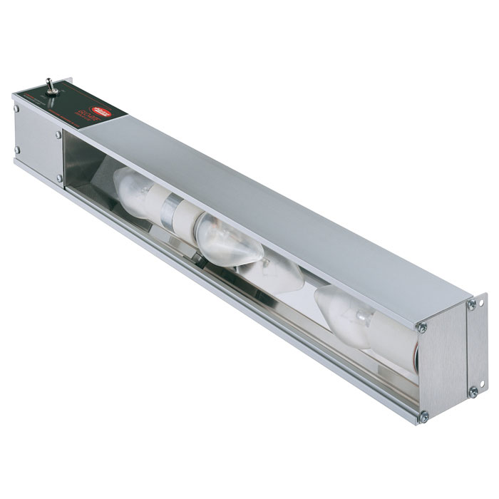 "Hatco HL-60-120-QS 60"" Strip Display Light w/ Toggle Switch - Aluminum, 120v"