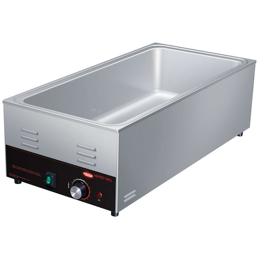 Hatco HW-43 Countertop Food Warmer/Cooker w/ (4) 1/3 Pan Capacity - Thermostatic, 120v