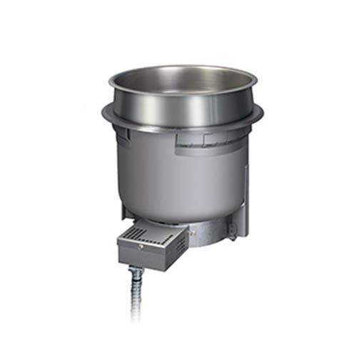 Hatco HWB-7QTD 7-qt Round Built-In Heated Well w/ Drain, 208 V