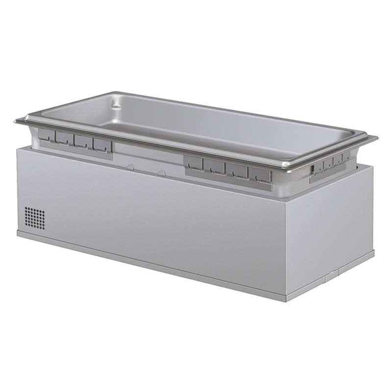 Hatco HWBHI-FULDA 208 Built-In Heated Well w/ Drain & 4-Pan Capacity, Auto Fill, 208 V