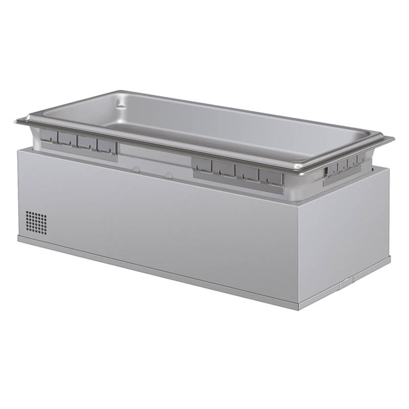 Hatco HWBHI-FULDA 240 Built-In Heated Well w/ Drain & 4-Pan Capacity, Auto Fill, 240 V