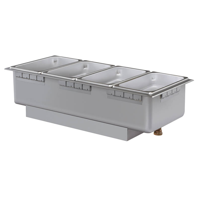 Hatco HWBHRN-43D 208 Heated Well w/ (4) Third Size Pan Capacity, Drain & Infinite Switch, 208 V