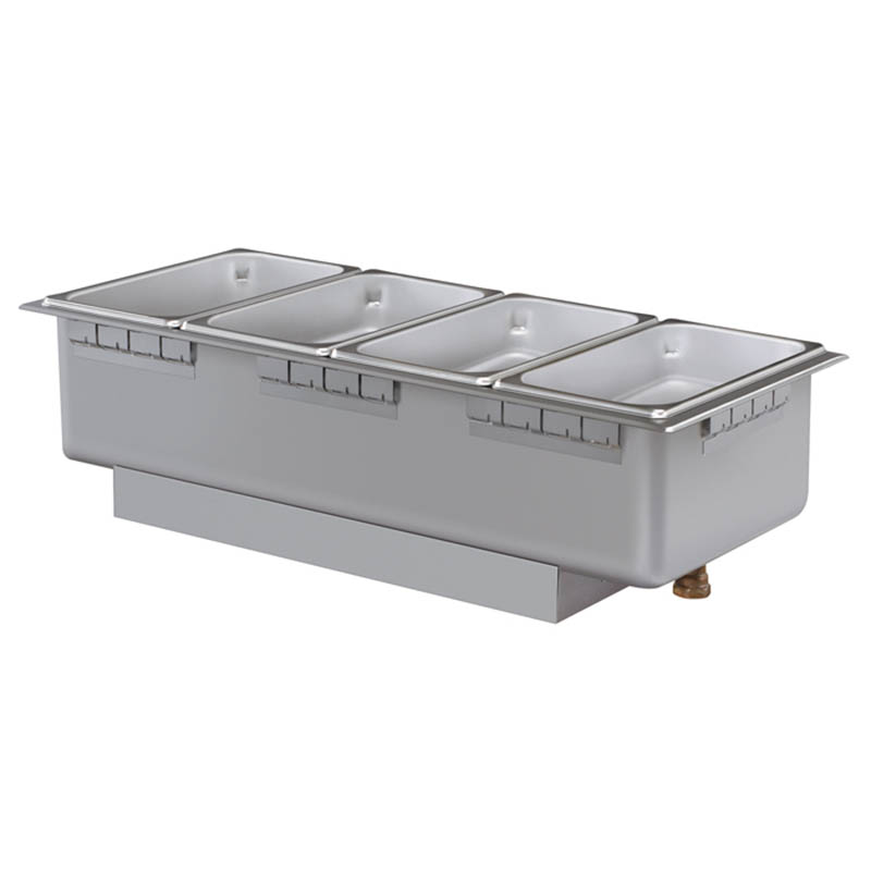 Hatco HWBHRN-43D 240 Heated Well w/ (4) Third Size Pan Capacity, Drain & Infinite Switch, 240 V