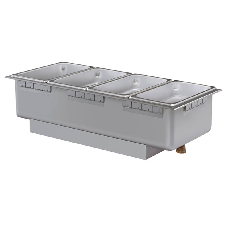 Hatco HWBHRT-43D 208 Heated Well w/ (4) Third Size Pan Capacity, Drain & Rocker Switch, 208 V