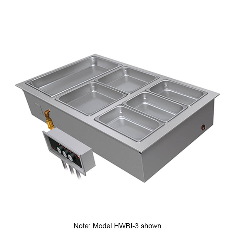 Hatco HWBI-1DA 120 Full Size Heated Well, Insulated w/ Drain & Auto-fill, 120 V