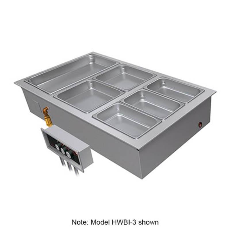 Hatco HWBI-2 2081 (2) Full Size Heated Well, Insulated, 208/1 V