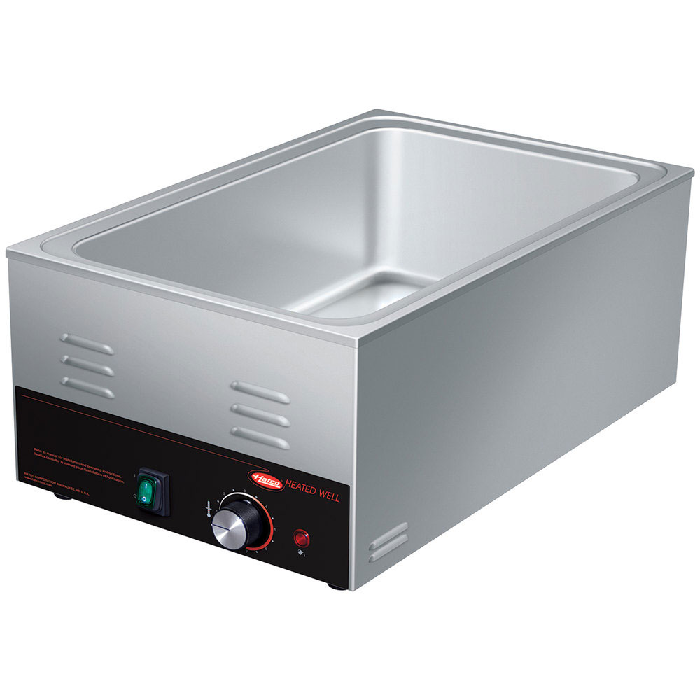 Hatco HW-FUL Countertop Food Warmer/Cooker w/ (1) Full Size Pan Capacity - Thermostatic, 120v