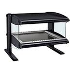"Hatco HZMH-24 27.9"" Self-Service Countertop Heated Display Shelf - (1) Shelf, 120v"