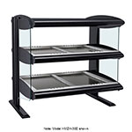 Hatco HZMH-24D Horizontal Merchandising Warmer, 1-Shelf & 2-Zone, 3-Divider Rod, LED, 1500-watt