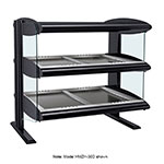 "Hatco HZMH-30D 33.9"" Self-Service Countertop Heated Display Shelf - (2) Shelves, 120v/208v/1ph"