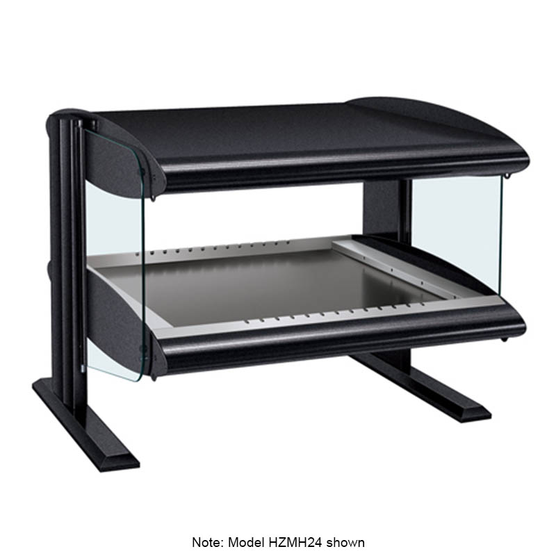 Hatco HZMH-54 Horizontal Merchandising Warmer, 1-Shelf & 6-Zone, 6-Divider Rod, LED, 2100-watt