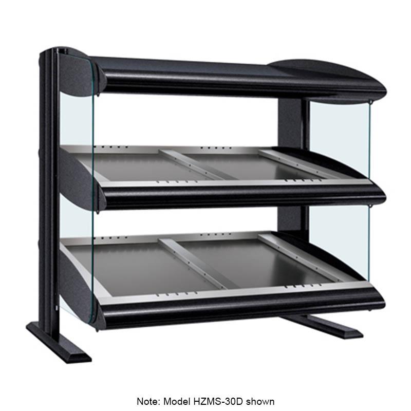 "Hatco HZMS-36D 39.9"" Self-Service Countertop Heated Display Shelf - (2) Shelves, 120v/208v/1ph"