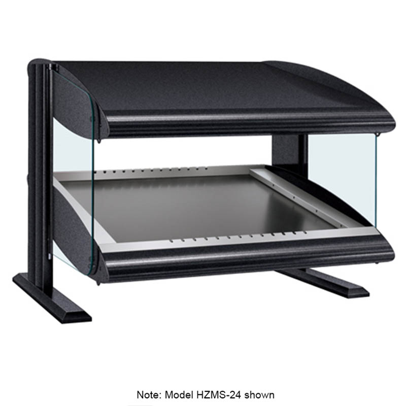 "Hatco HZMS-42 45.9"" Self-Service Countertop Heated Display Shelf - (1) Shelf, 120v"
