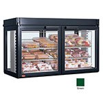 Hatco LFST-48-2X 208 GREEN Merchandising Cabinet w/ 4-Glass Rear Doors, Green, 208 V