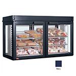 Hatco LFST-48-2X 208 NAVY Merchandising Cabinet w/ 4-Glass Rear Doors, Navy, 208 V