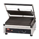 Hatco MCG14G-208 Commercial Panini Press w/ Cast Iron Grooved Plates, 208v/1ph