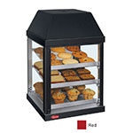 Hatco MDW-1X 120 RED Mini Display Warmer w/ Adjustable Shelves, Warm Red, 120 V