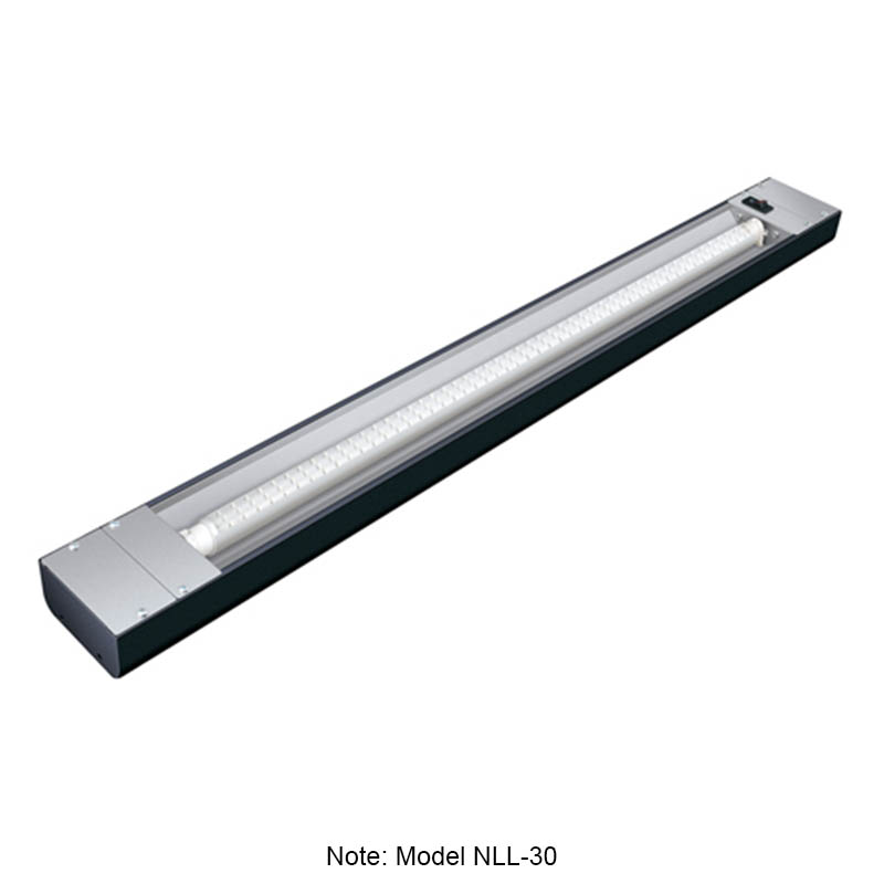 "Hatco NLL-60 60"" Narrow LED Display Light w/ 4-ft Bulb & 1.5"" Mounting Bracket, 10-watt"