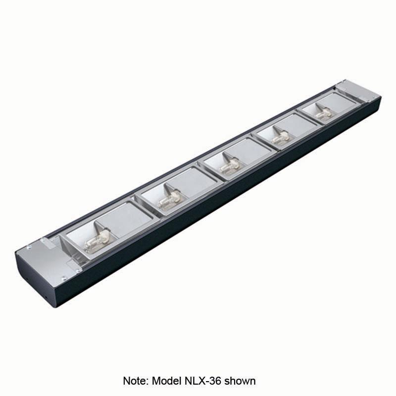 Hatco NLX-42 42-in Narrow Xenon Display Light w/ 5-Bulb & 1.5-in Mounting Bracket, 250-watt